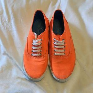 Men's Old Navy Orange Skate Sneaker Size 9